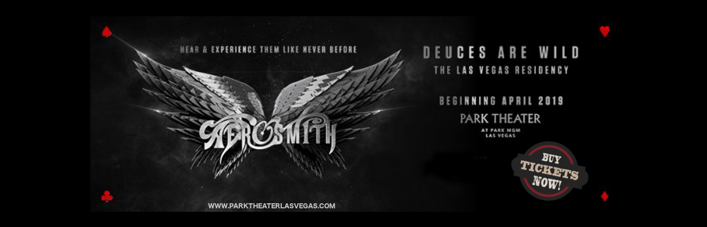aerosmith deuces are wild live las vegas get tickets