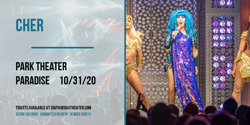 Cher [CANCELLED] at Park Theater
