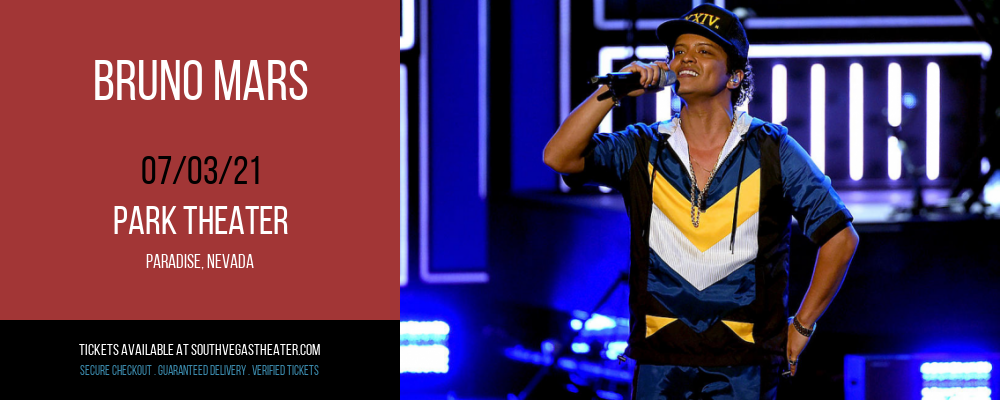 Bruno Mars at Park Theater